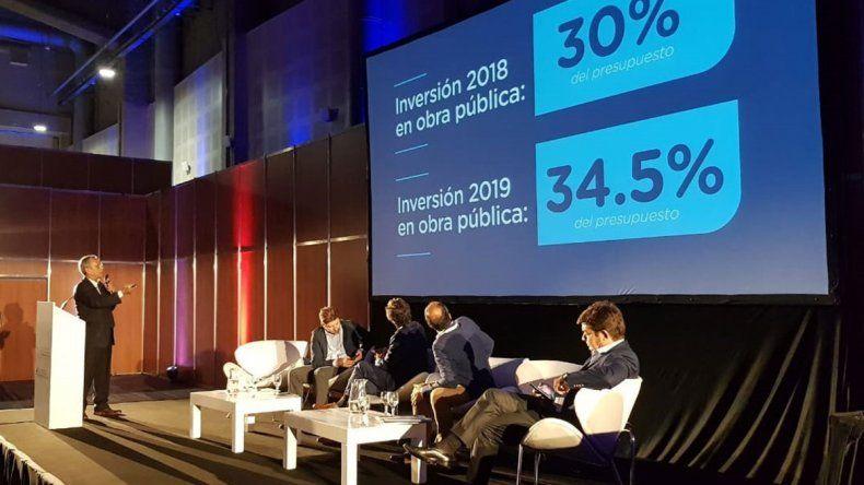Pechi mostró ante Macri el equilibrio de sus cuentas