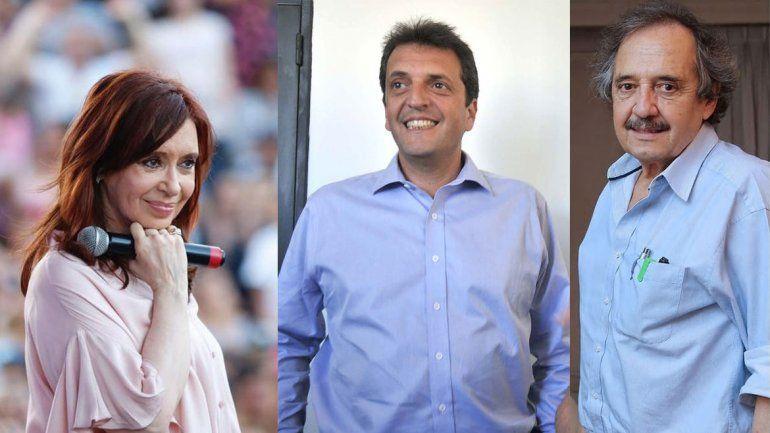 Pino insiste en un frente con CFK, Massa y Alfonsín