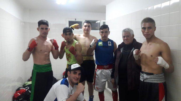 Cuatro neuquinos competirán en el Argentino de boxeo