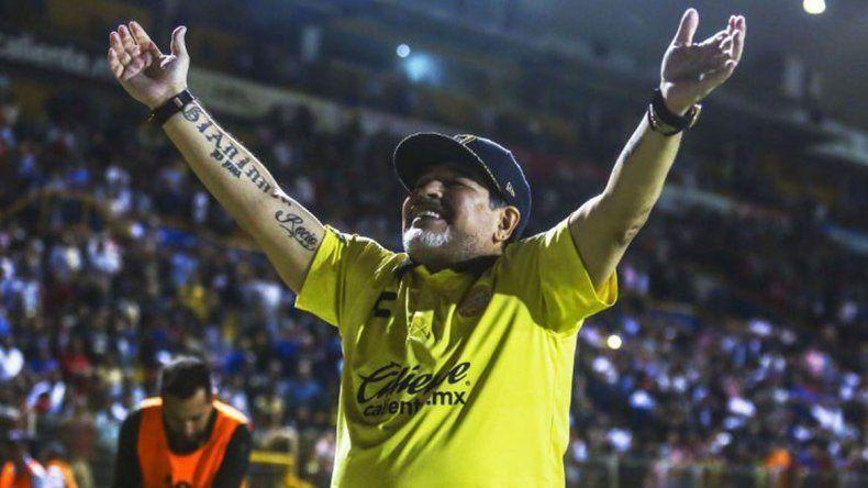 Diego Maradona llevó a Dorados a la final y va por el ascenso en México