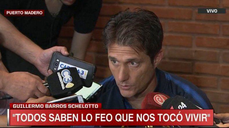 Guillermo: Estábamos en desventaja para jugar la final
