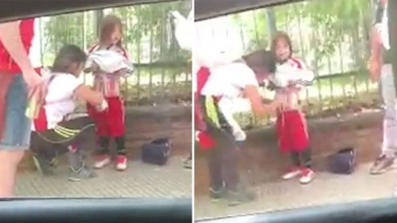 Detuvieron a mujer por usar a su hija para pasar bengalas al Monumental