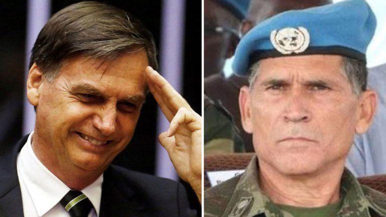 Bolsonaro suma a otro militar a su futuro gabinete