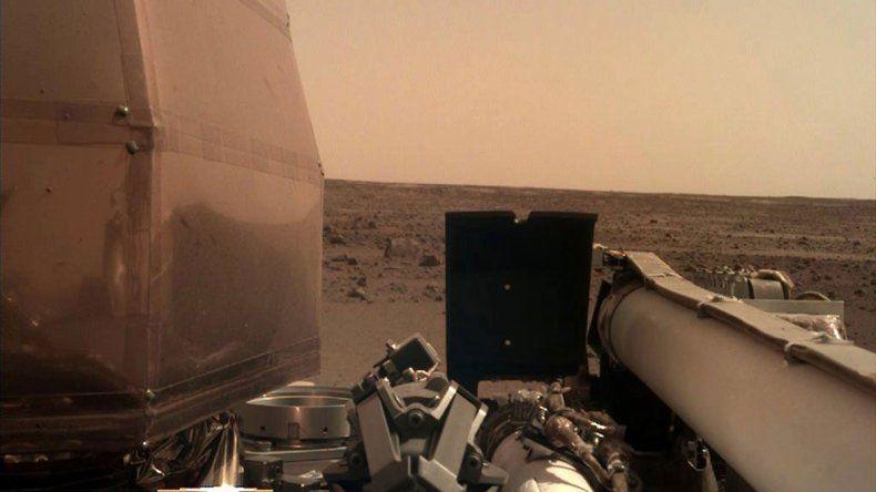 La sonda InSigh llegó a Marte y  comenzó su investigación