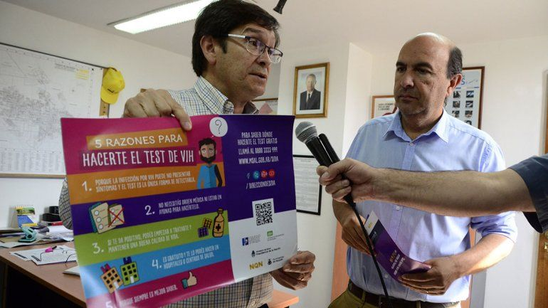 Lanzan campaña de prevención del VIH en la ciudad
