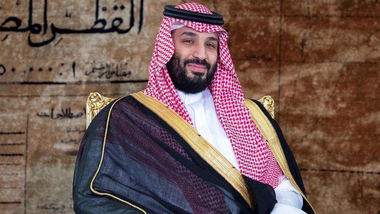 El príncipe de Arabia Saudita llegó al país en medio de un escándalo