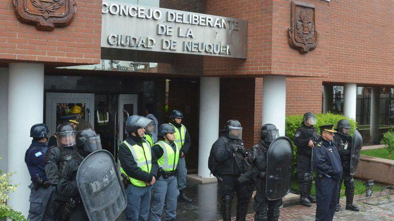Arreglar los destrozos en el Concejo costará 600 mil pesos