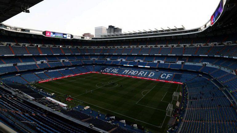 La Superfinal, ahora, se mudaría al estadio del Real Madrid