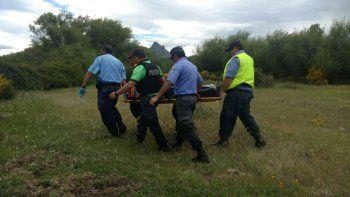 Murió ahogado un pescador de Buenos Aires en el río Chimehuín