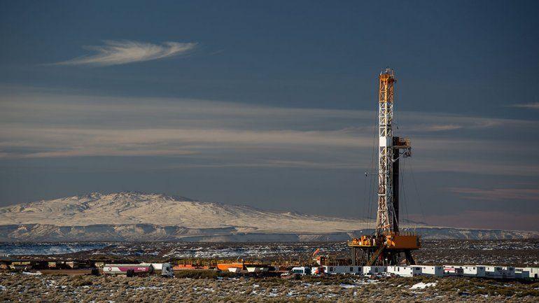 El gas alcanzó su producción más alta en 10 años