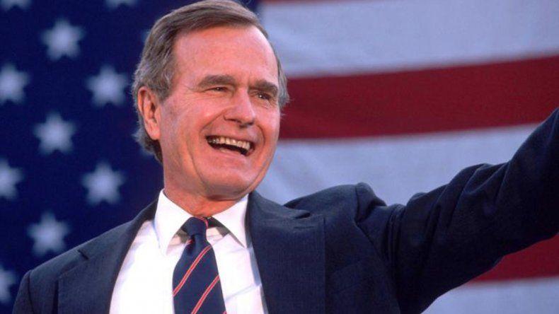A los 94 años murió el ex presidente de Estados Unidos George H.W. Bush