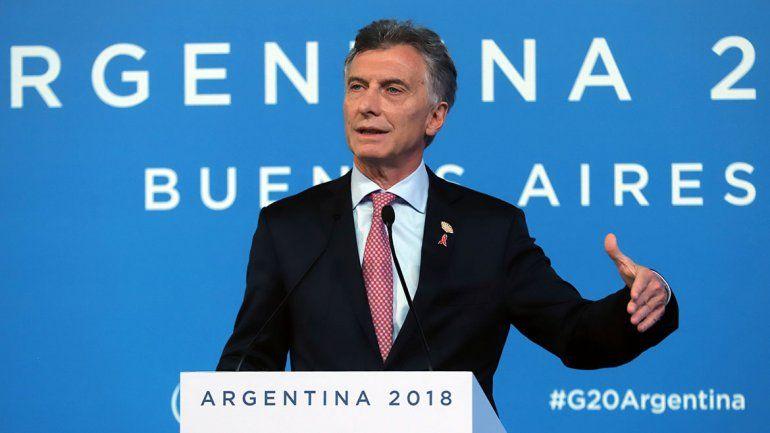 Macri agradeció a Trump su apoyo a Argentina en momentos difíciles