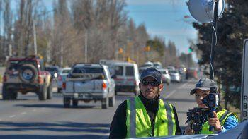 en noviembre, solo se hicieron 108 multas con los radares en ruta 22