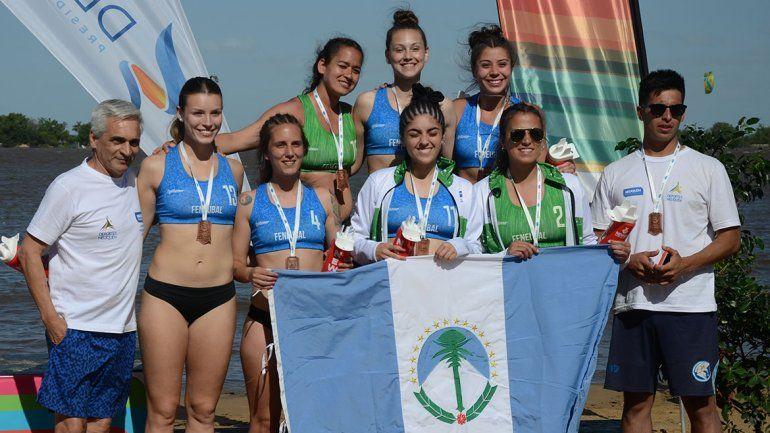 De la mano de Gisella Bonomi, Neuquén tuvo su podio en handball