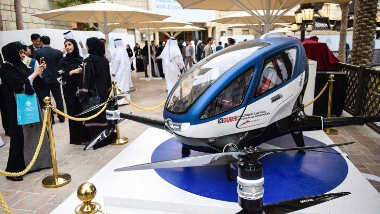Presentan el prototipo de taxidrone que se viene