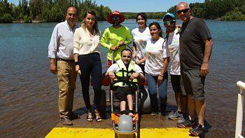 Una silla anfibia traerá inclusión a los balnearios