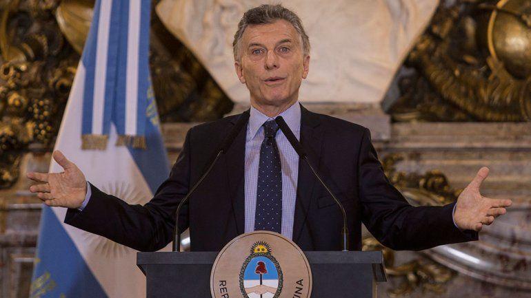 Macri develó que la Superfinal se mudó por las agresiones a Infantino