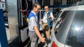 sube el combustible: desde el jueves, 5% de incremento