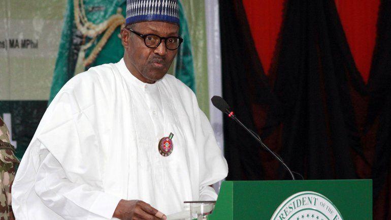 El presidente de Nigeria desmintió que sea un doble