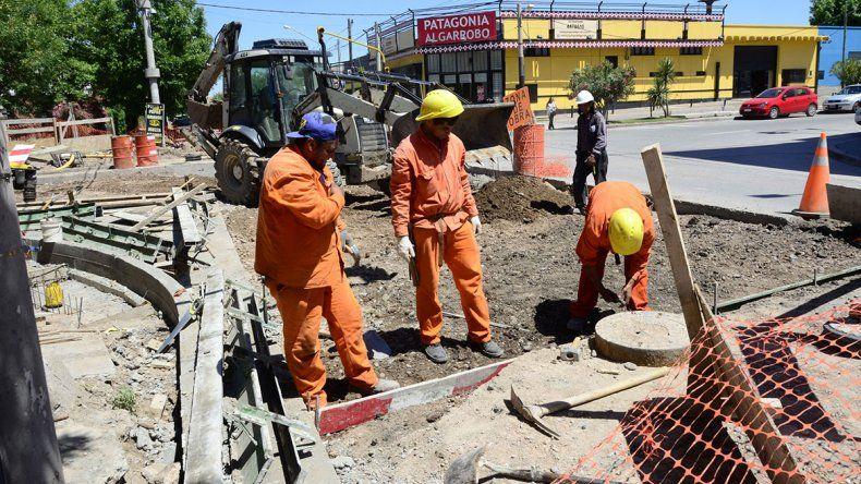 La obra pluvial de Saavedra estará lista en febrero