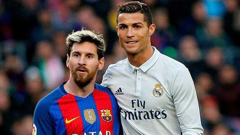 Messi y Ronaldo, invitados de lujo  a la superfinal