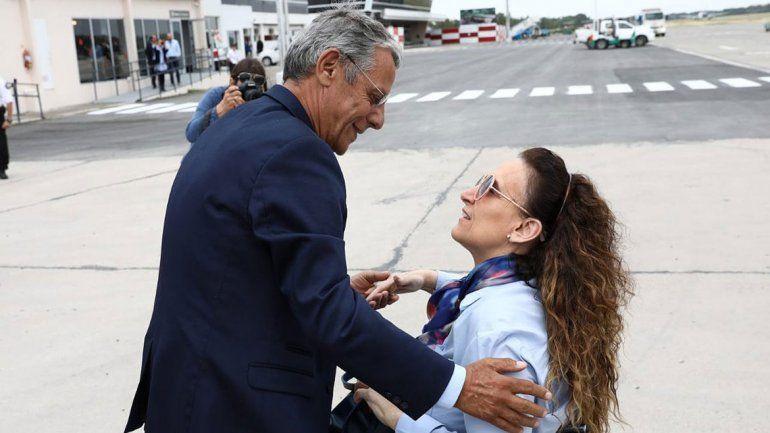 Michetti llega a Neuquén: Quiroga es un candidatazo
