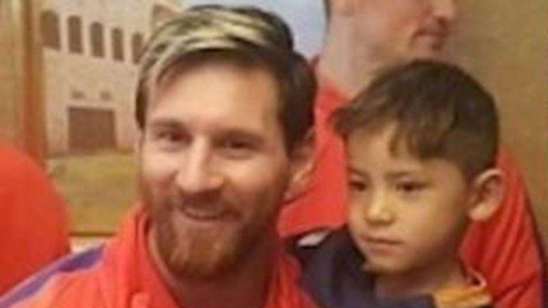 Murtaza Ahmadi conmovió a todos en 2016. Ese mismo año conoció a Leo en Qatar. Ahora tuvo que dejar su casa