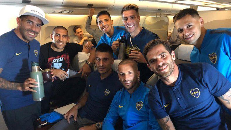 El as bajó la manga de Boca para que los jugadores tengan una sonrisa