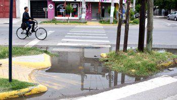 vecinos de calle fava reclaman que hace 20 dias esta roto un cano