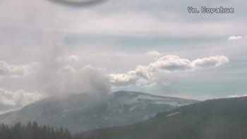 volcan copahue: registraron 200 sismos en una sola tarde
