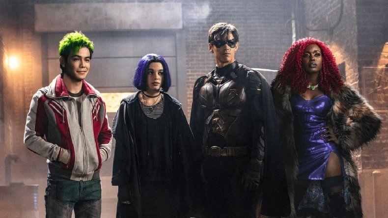 Netflix reveló la fecha de estreno de Titans en Latinoamérica