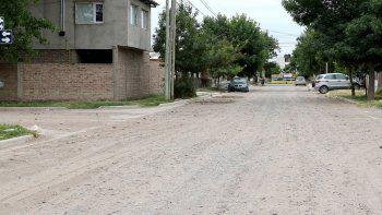 en enero llegara el asfalto al barrio don bosco ii
