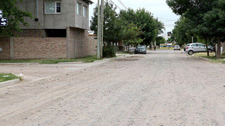En enero llegará el asfalto al barrio Don Bosco II