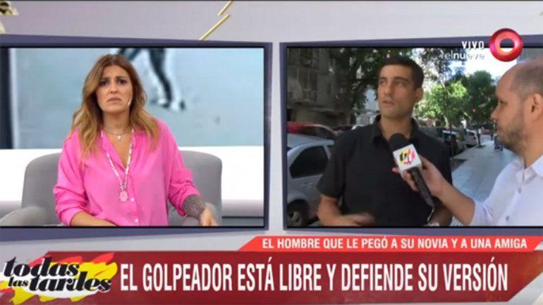 En vivo, Maju Lozano insultó a un golpeador y lo sacó del aire