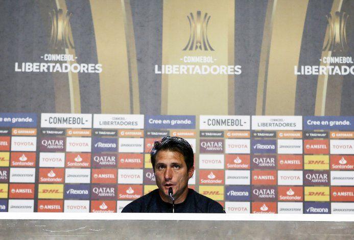 Guillermo Barros Schelotto no confirmó el equipo y habló de su renovación de contrato