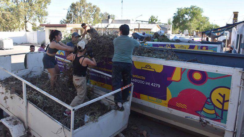 Basura: centros de acopio recibieron a una multitud