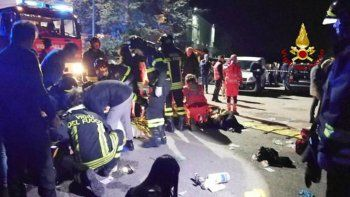 tragedia en boliche: una estampida dejo 6 muertos
