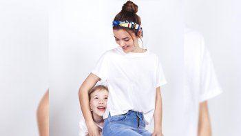 una reina sin corona que hoy es modelo junto a su hija