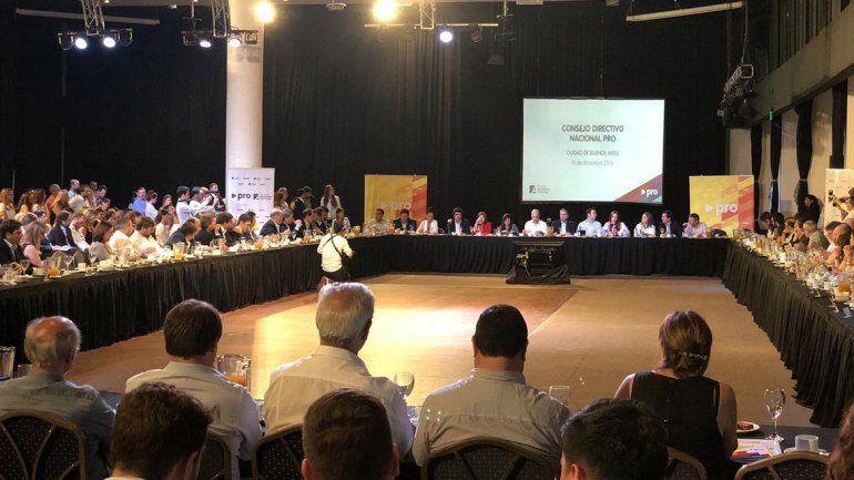 Con presencia local, el PRO hizo el balance de los tres años de Macri