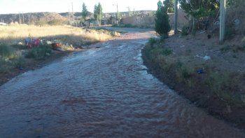 ¿venecia o el oeste neuquino? perdida de agua potable deja sin servicio a ocho barrios