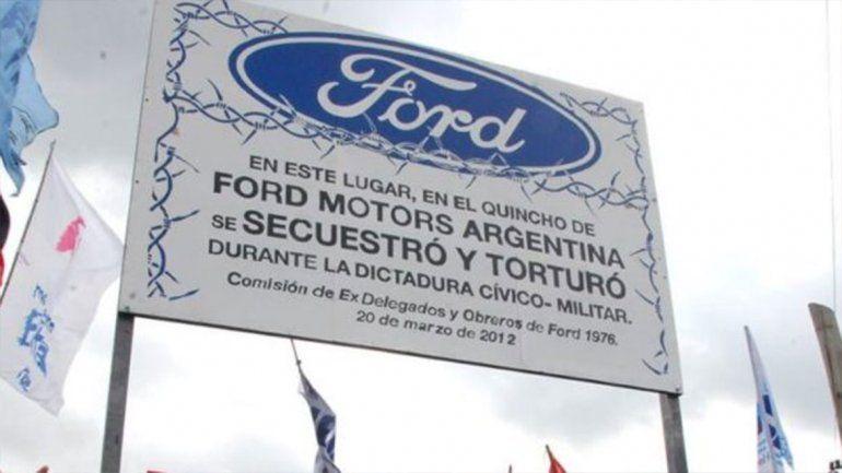Histórico: condenan a dos gerentes de Ford por los crímenes de la dictadura