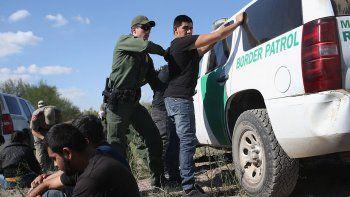inmigracion: trump elogio a su policia fronteriza