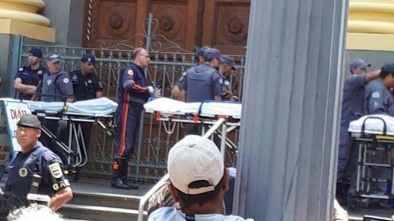 Masacre en iglesia: mató a 4 personas y se suicidó