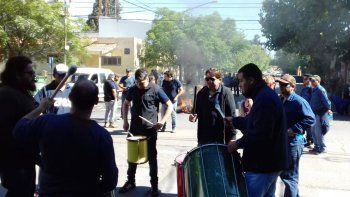 tras el corte de ruta, seguira la protesta de trabajadores del epas