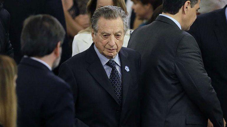 Por cuestiones de salud, el padre de Macri no declara