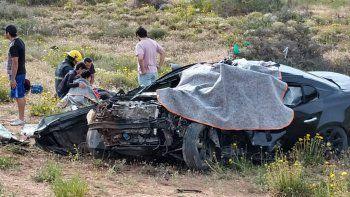 accidente fatal en ruta 22 en cerro bandera: un muerto y cinco heridos, uno de gravedad