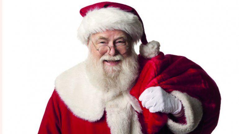 Papá Noel, complicado para llegar: Nochebuena, con 39 grados y mucho viento