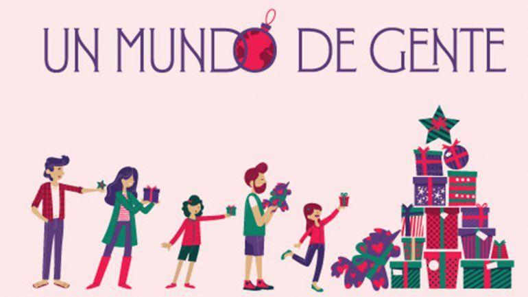 Un mundo de gente, la campaña solidariade Alto Comahue
