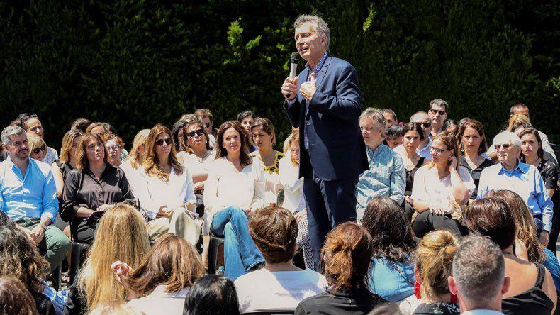 Empujado por la coyuntura, Macri lanzó un plan para la igualdad de género