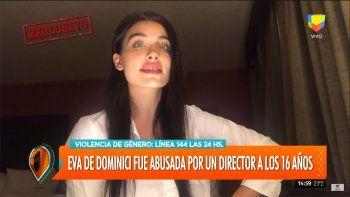 la denuncia de abuso de eva de dominici contra un director de cine